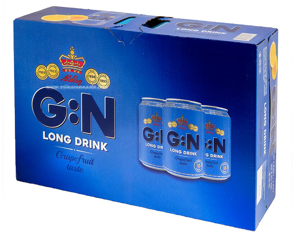 A.Le Coq G:N Long Drink 5,5% 24x33cl