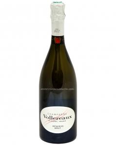 Viinarannasta - Vollereaux Brut Reserve Champagne 12% 75cl